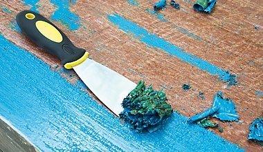 Как снять старую краску: эффективные способы удаления покрытия