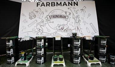 Бренд Farbmann стал официальным партнером Федерации стронгменов Украины