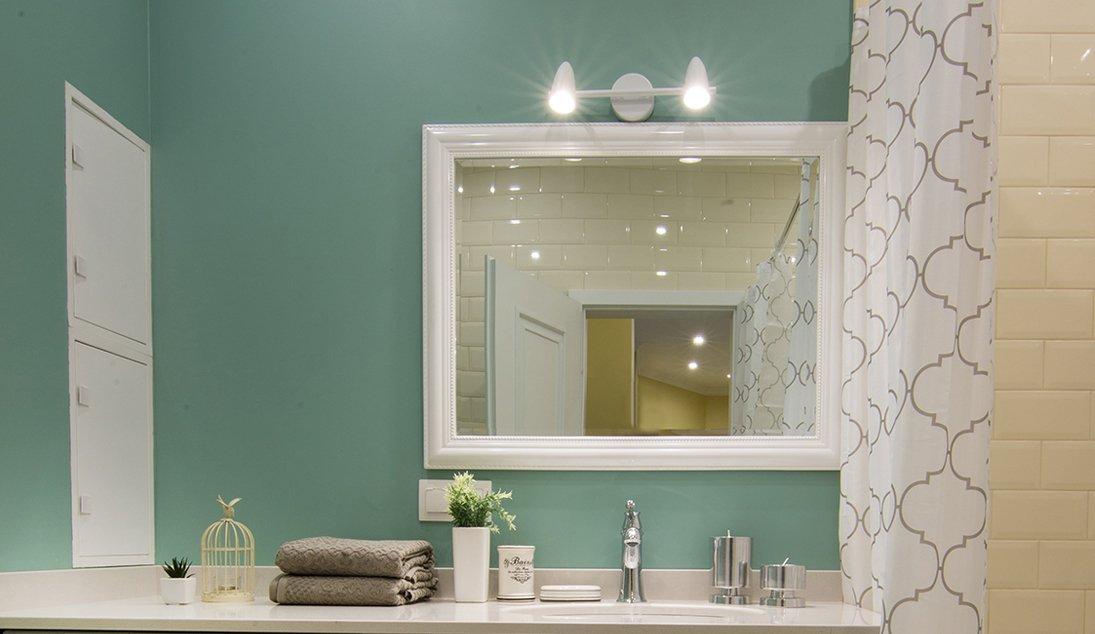Краска в ванной вместо плитки фото